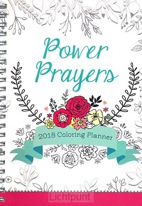 2018 planner prayers colouring