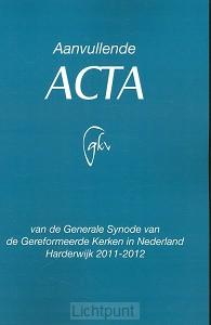 Aanvullende Acta Harderwijk 2011-2012