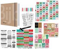 Schrijfbijbel + bible journaling pakket