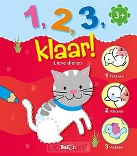 1 2 3 klaar lieve dieren 3+