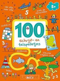100 schrijf- en telspelletjes