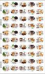 Fun stickers forest animals set4