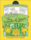 Colouring book colour the words of Jesus
