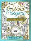 5 words prayer coloring book