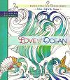 Coloring journal love like a ocean