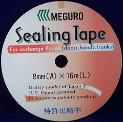 Meguro Sealing Tape 8mm x 16 meter