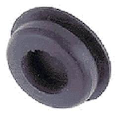 Afdekdop rubber boorgat 14mm