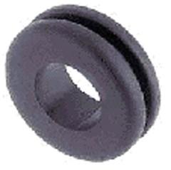 Kabeldoorvoerrubber dubbelzijdig open boorgat 9,3mm