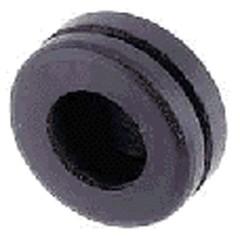 Kabeldoorvoerrubber enkelzijdig gesloten boorgat 6,0mm