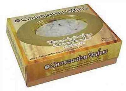 Round communion bread wafer (1000 pcs), Communion Ware