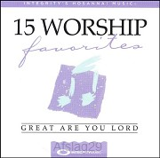 15 Favorite Worship Songs: Great Are You