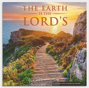 2021 Wall Calendar Earth is the Lord''s