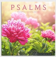2021 Wall Calendar Psalms