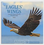 2021 Wall Calendar Eagles'' Wings
