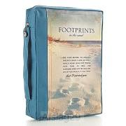 Footprints - Blue - Polycanvas