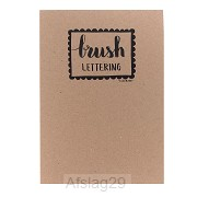 A4 Oefenblok Brushlettering