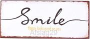 Smile happy looks good on you