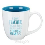 A good teacher takes a hand