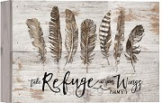 Take refuge in your wings - Ps 57:1