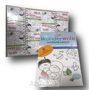 ABC uitdeel kleurboekjes set8