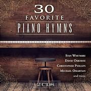 30 Favorite Piano Hymns (2-CD)