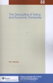 The decoupling of voting and economic ownership