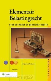Elementair belastingrecht / 2013/2014 / deel theorieboek