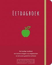 Eetdagboek bordeaux fond
