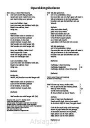 Tekstboekje aanvulling nr.783-795