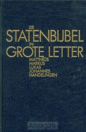 Statenbijbel grote letter nt1 mattheus