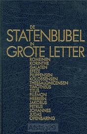 Statenbijbel grote letter nt2 romeinen o