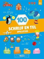 100 schrijf en tel spelletjes