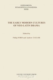 The early modern cultures of Neo-Latin d