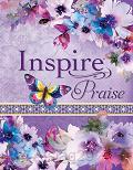 Inspire Praise Bible - Purple Flowers