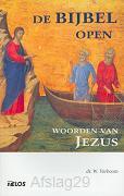 Bijbel open woorden van Jezus
