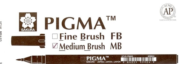 Bruch pen  Pigma