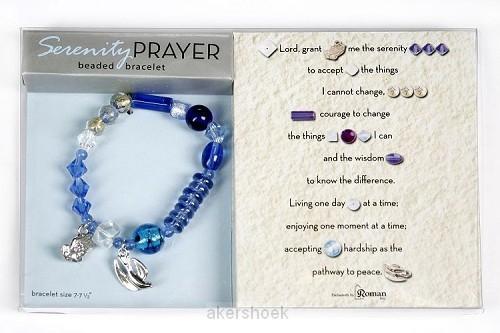 Armband serenity prayer 17.5/19cm