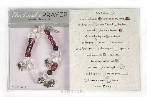 Armband the Lord's prayer 17.5/19cm