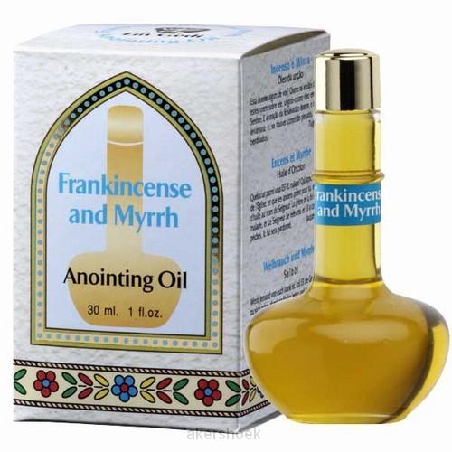 Anointing oil 30ml myrrh & frankincense