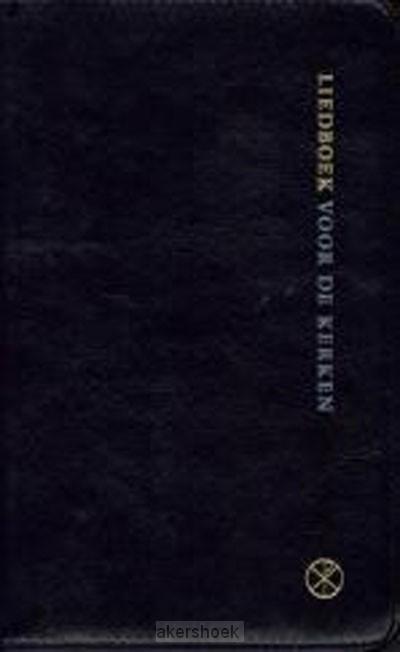 Liedboek klein zwart soepele band kleurs