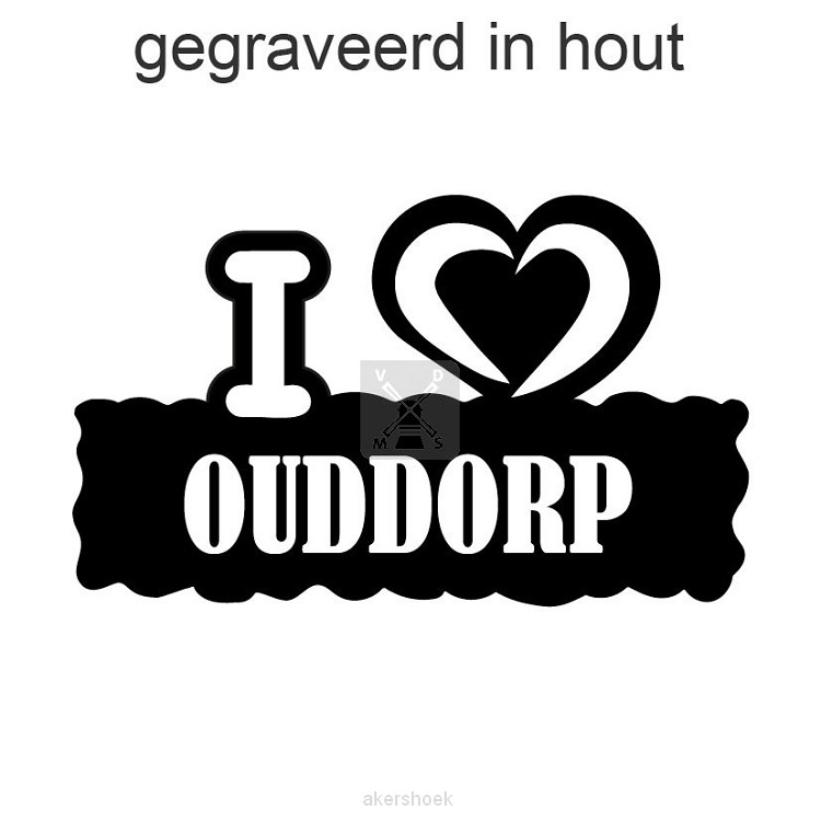 magneet i love Ouddorp