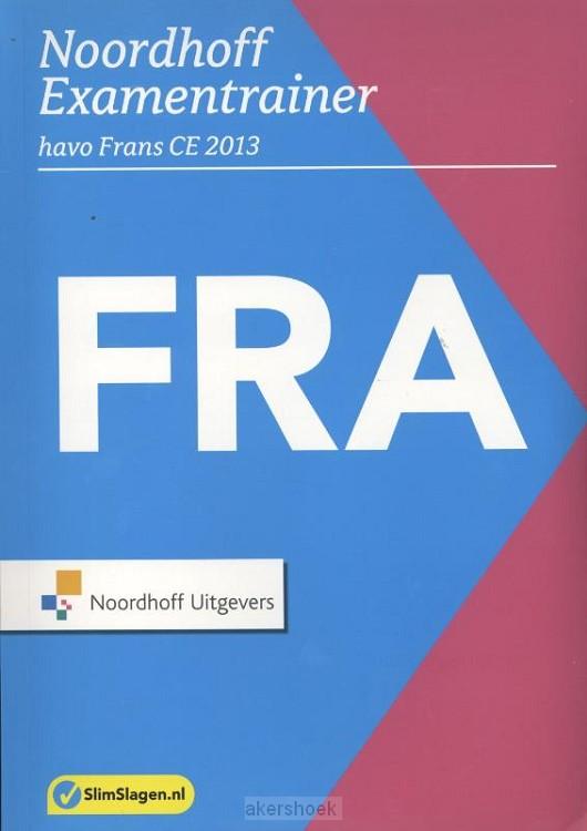 Noordhoff Examentrainer  / Havo Frans CE