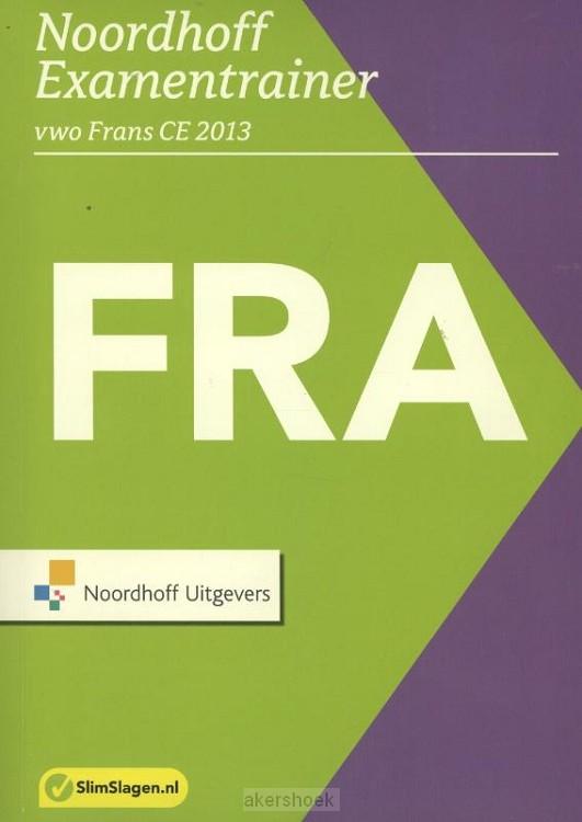 Noordhoff examentrainer  / Vwo Frans CE