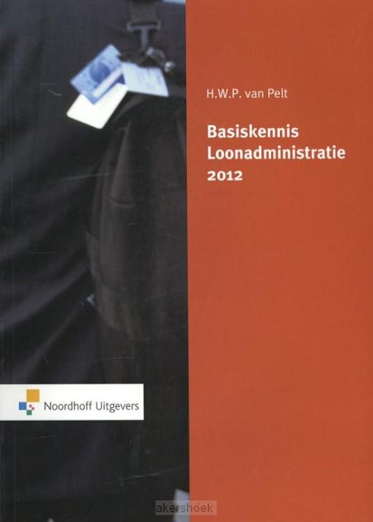 Basiskennis loonadministratie  / 2012