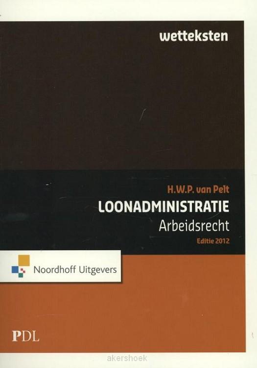 Wetteksten arbeidsrecht / 2012