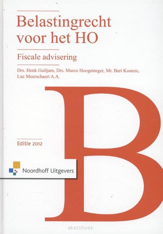 Belastingrecht voor het ho  / 2012