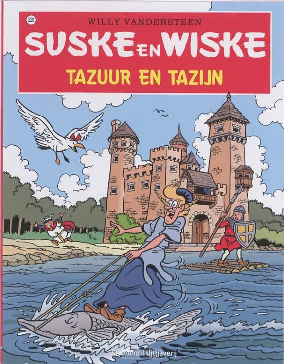 Suske en Wiske / 229 Tazu