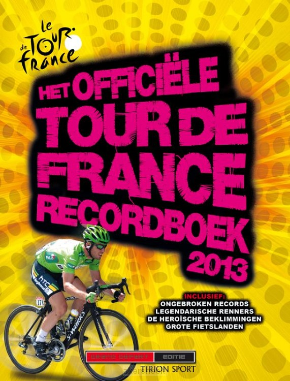 Het officiele tour de France recordboek