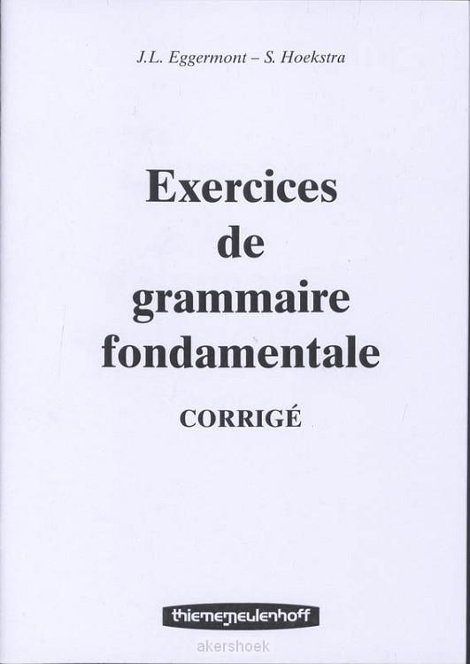Exercices de gramm.fondam