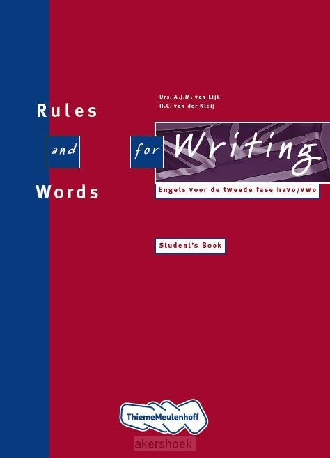 Rules and words for writi